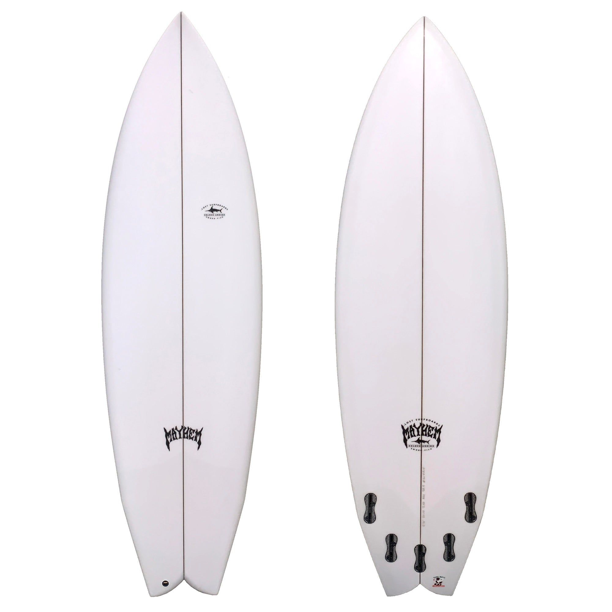 Lost Sword-Fish Surfboard - FCS II