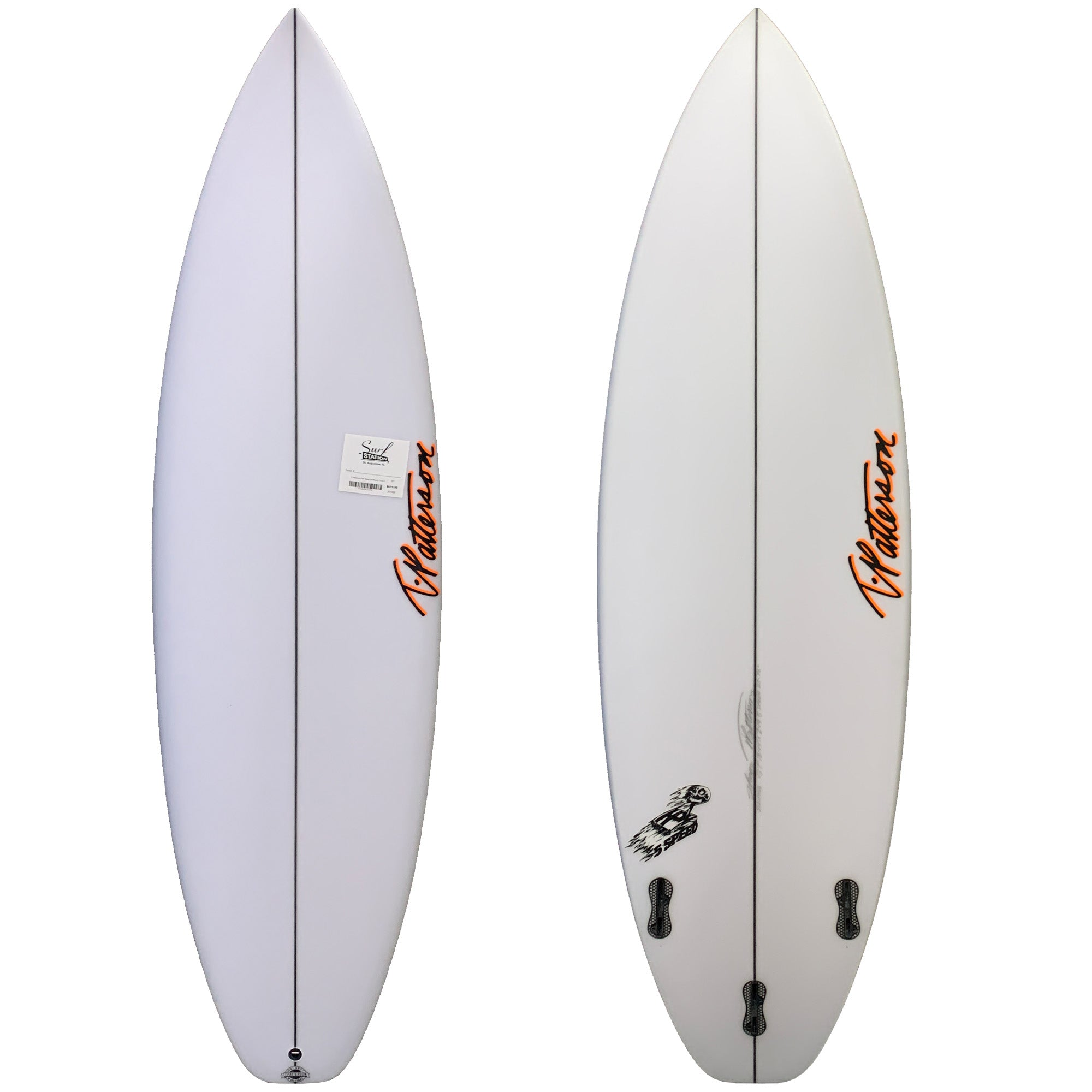 T. Patterson Five Speed Surfboard - FCS II