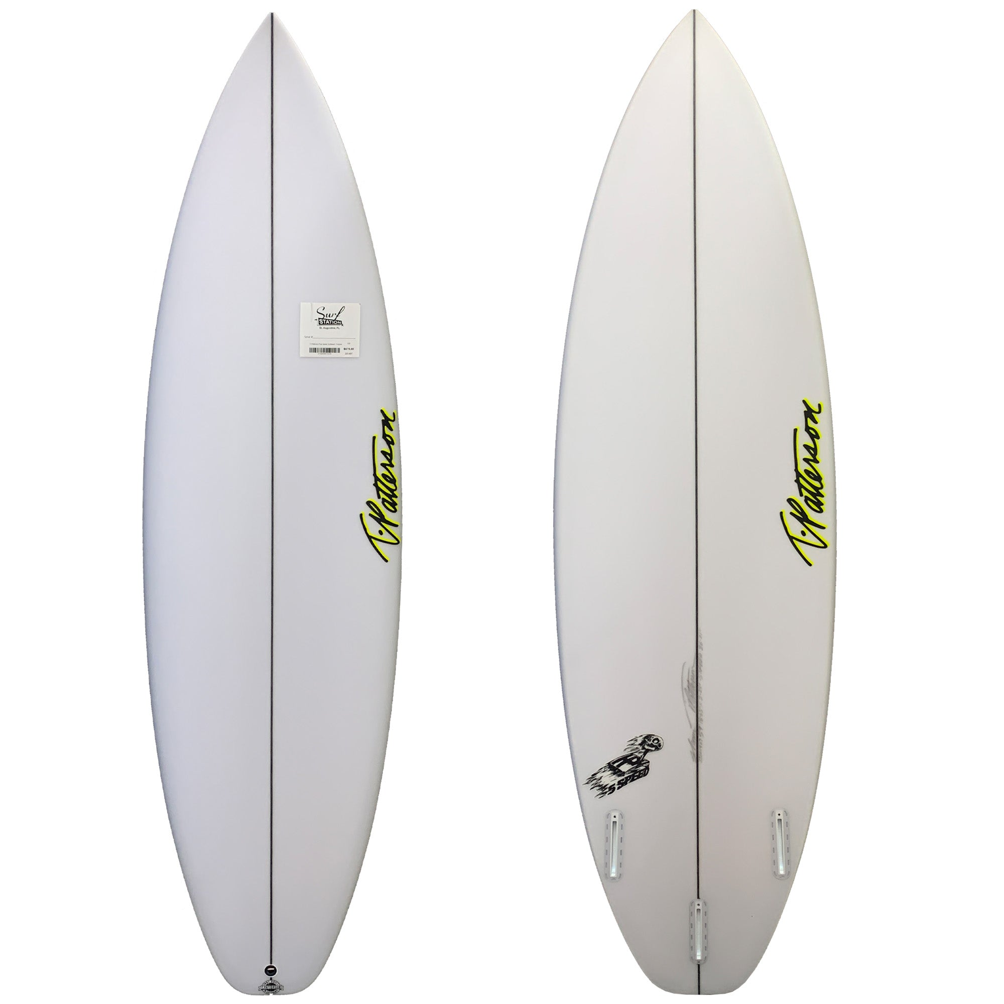 T. Patterson Five Speed Surfboard - Futures