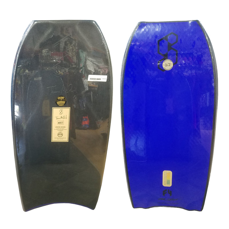 "Mike Stewart Science Tanner LTD Quad Signature 41.5"" Bodyboard - Black/Blue"