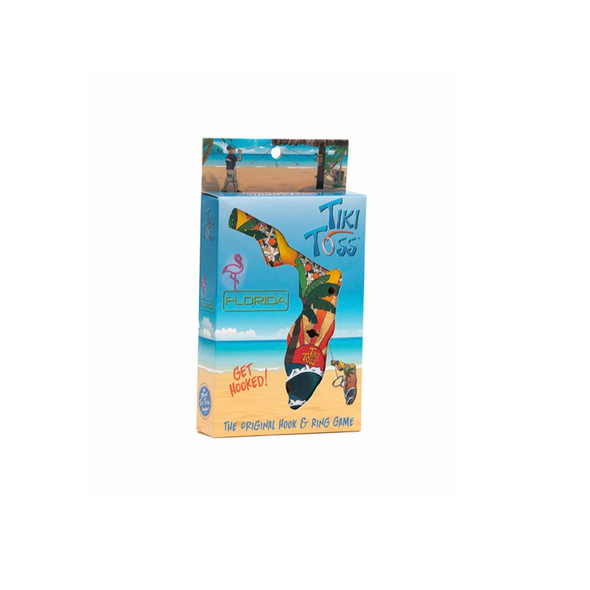 Tiki Ring Toss Florida Game - Limited Edition
