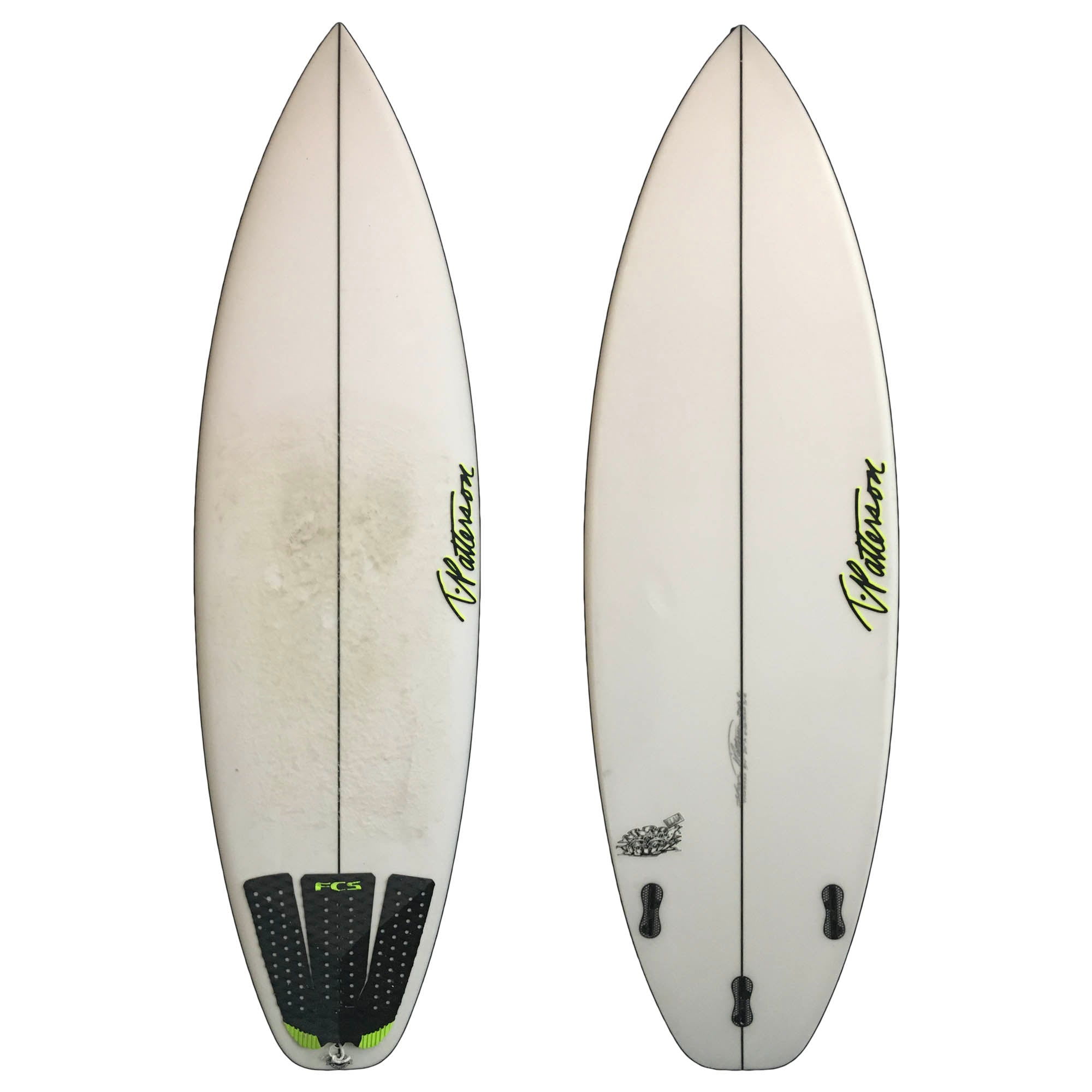 T. Patterson Clam 5'11 Used Surfboard