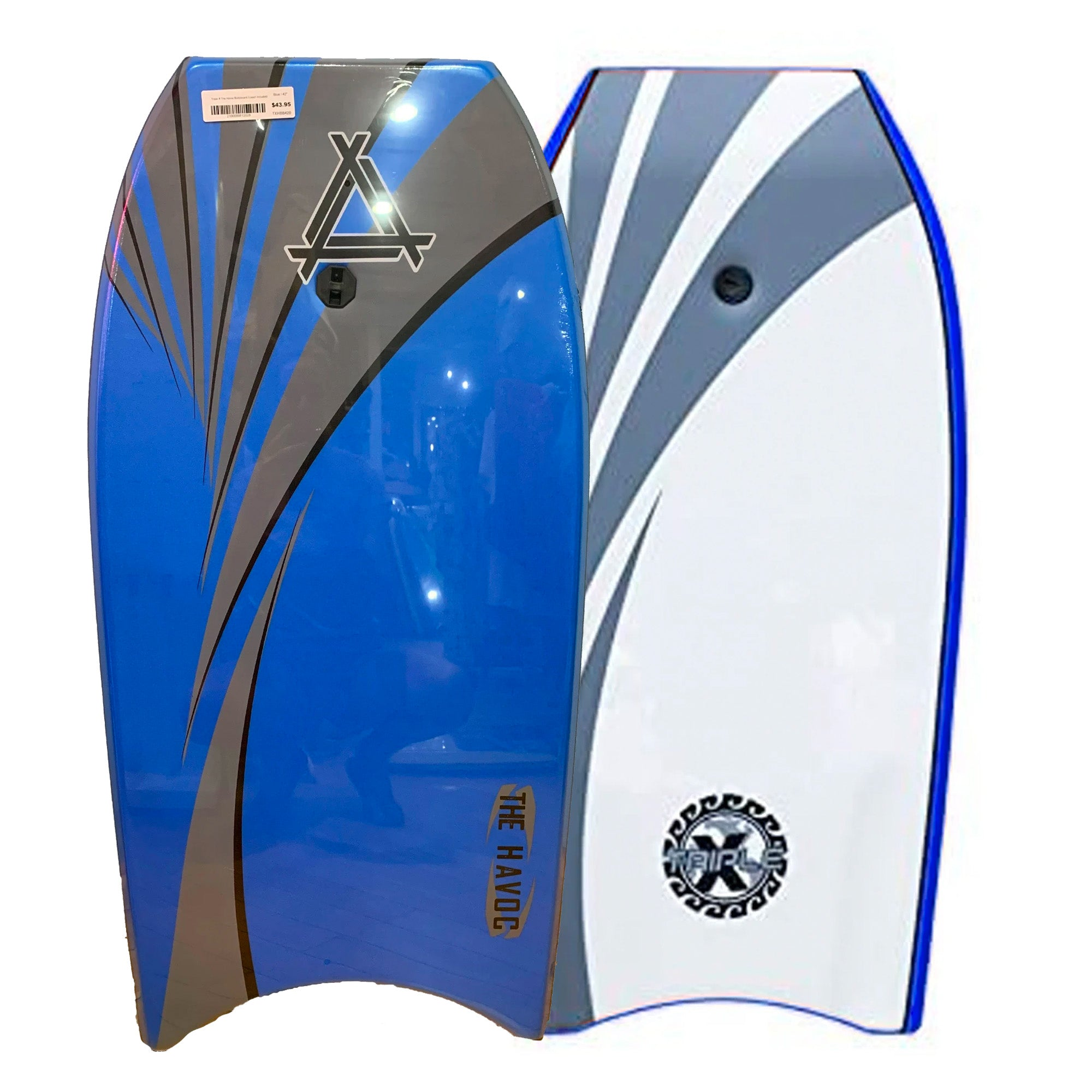 "Triple X Havoc 40"" Bodyboard - Blue"