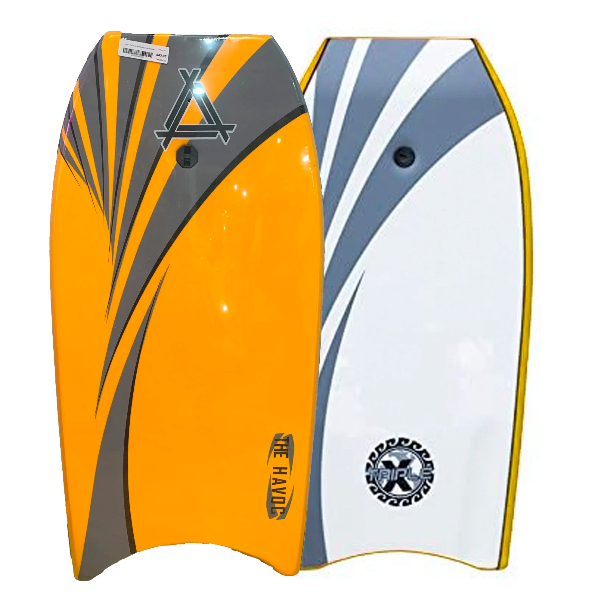 "Triple X Havoc 40"" Bodyboard - Orange"