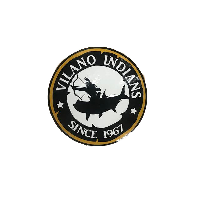 Vilano Indians Small Sticker