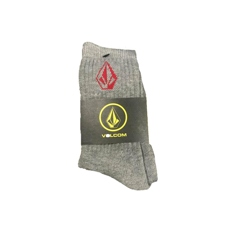 Volcom Full Stone Youth Boy's Socks - Grey