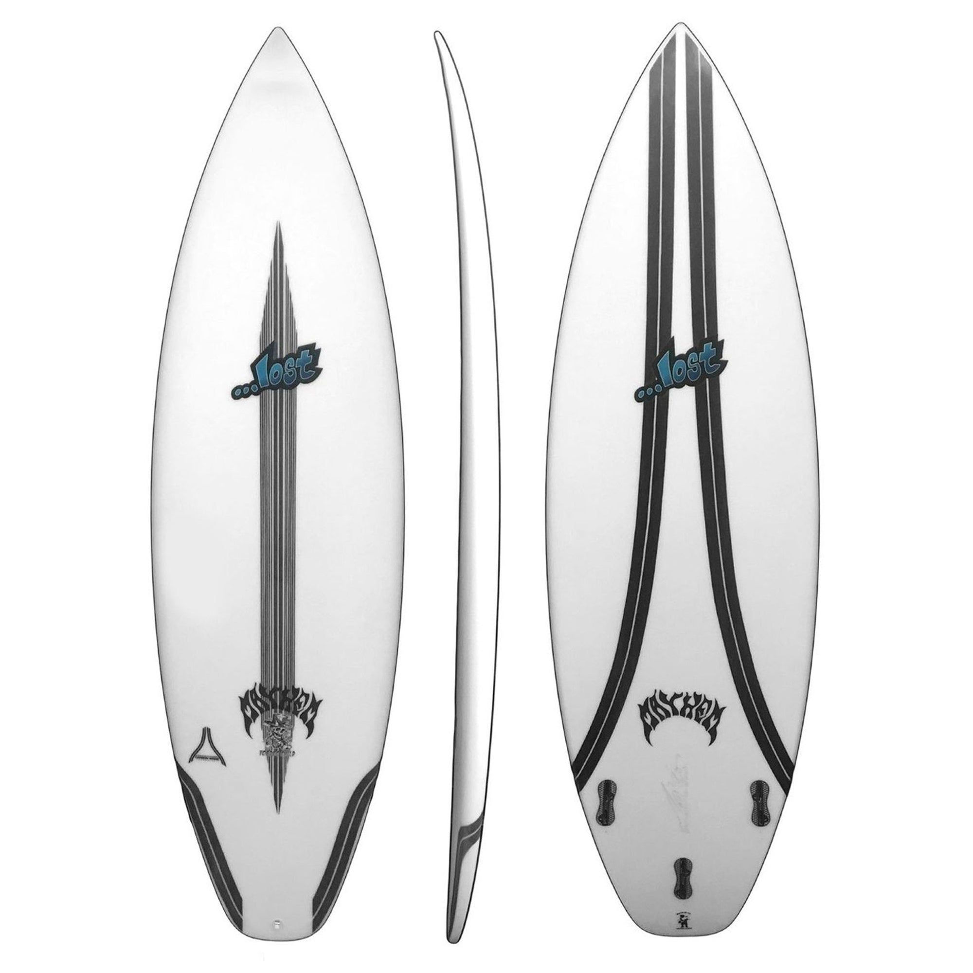Lost Voodoo Child Surfboard - Carbon Wrap