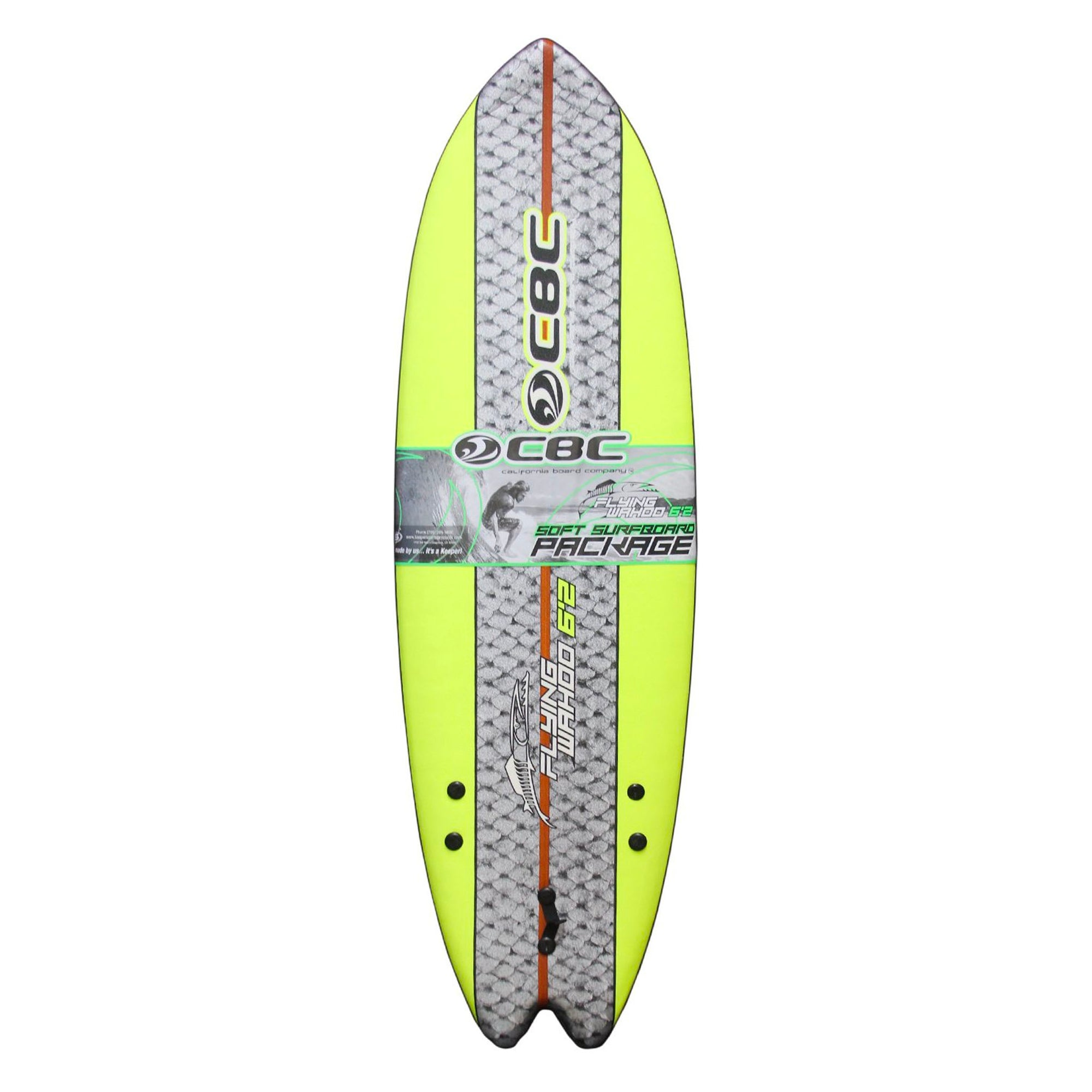 California Board Co. Flying Wahoo Soft Surfboard