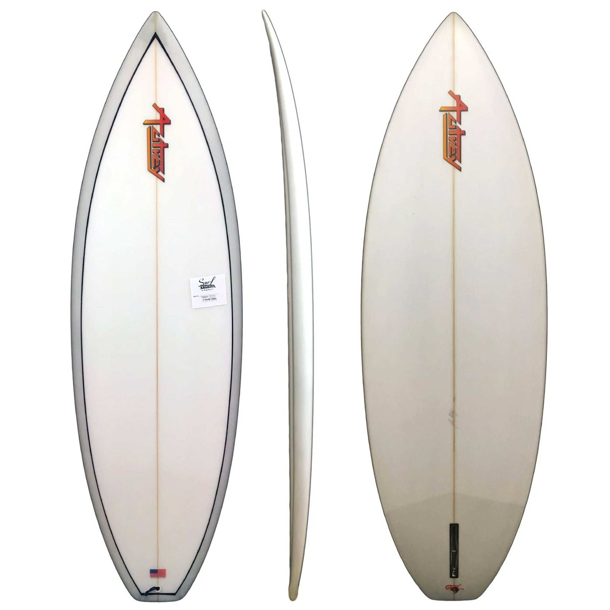 Warrior Single Fin Surfboard