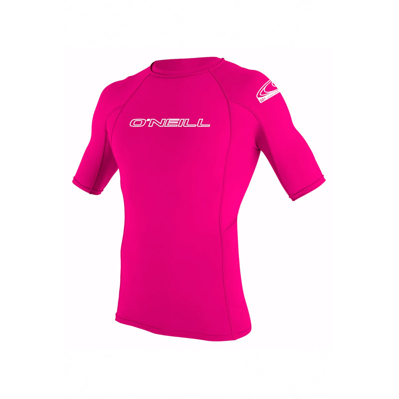 O'Neill Basic Youth Girl's S/S Rashguard