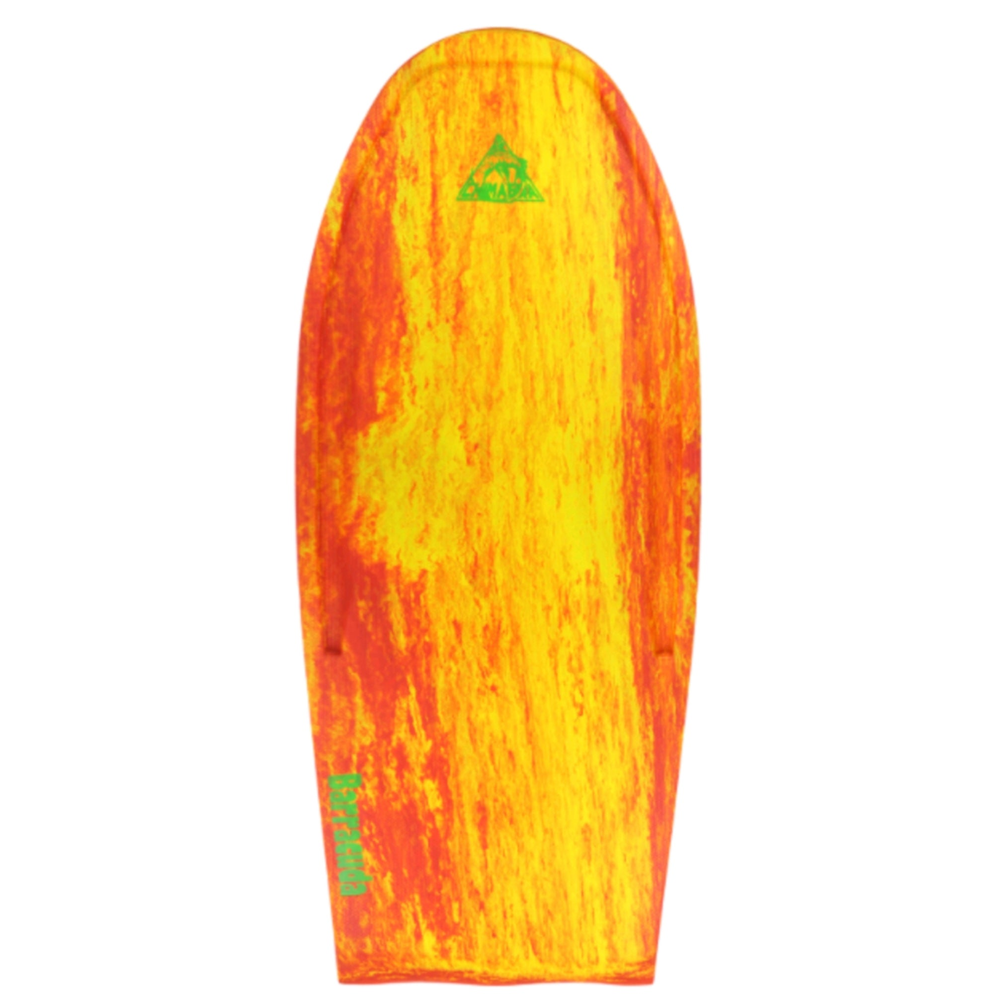 "Wave Skater Pro Barracuda 54"" Bodyboard - Red/Yellow"