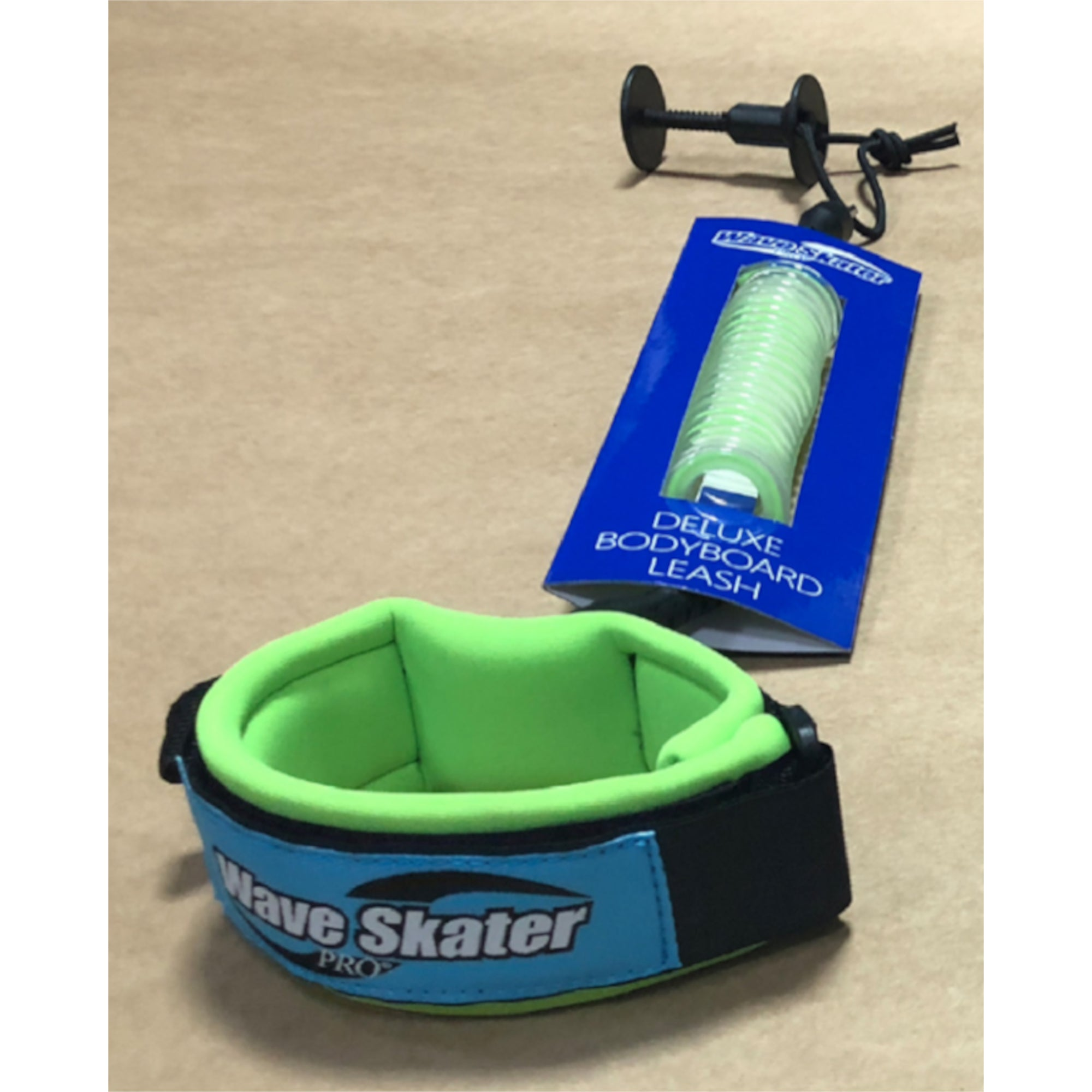 Wave Skater Pro Deluxe Bodyboard Leash