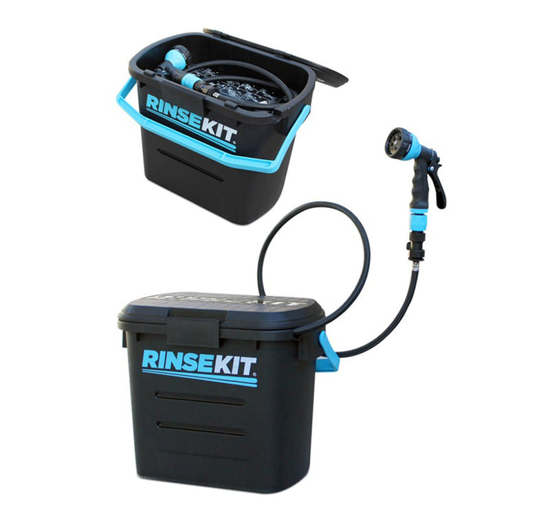 RinseKit Pressurized Portable Shower - 2 Gallon