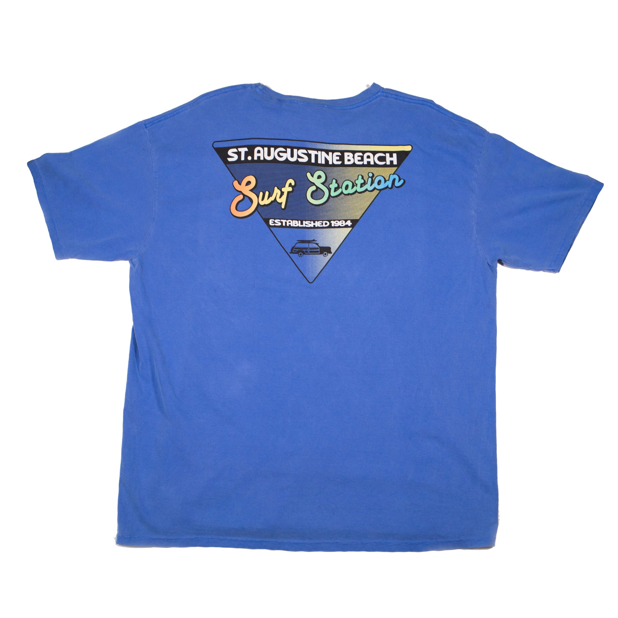 Surf Station Dyed Wingspan Men's S/S T-Shirt
