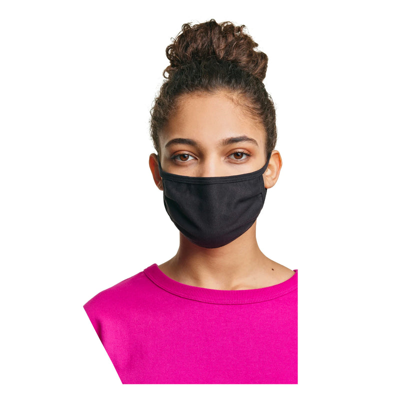 Hanes Women's Face Mask - Black