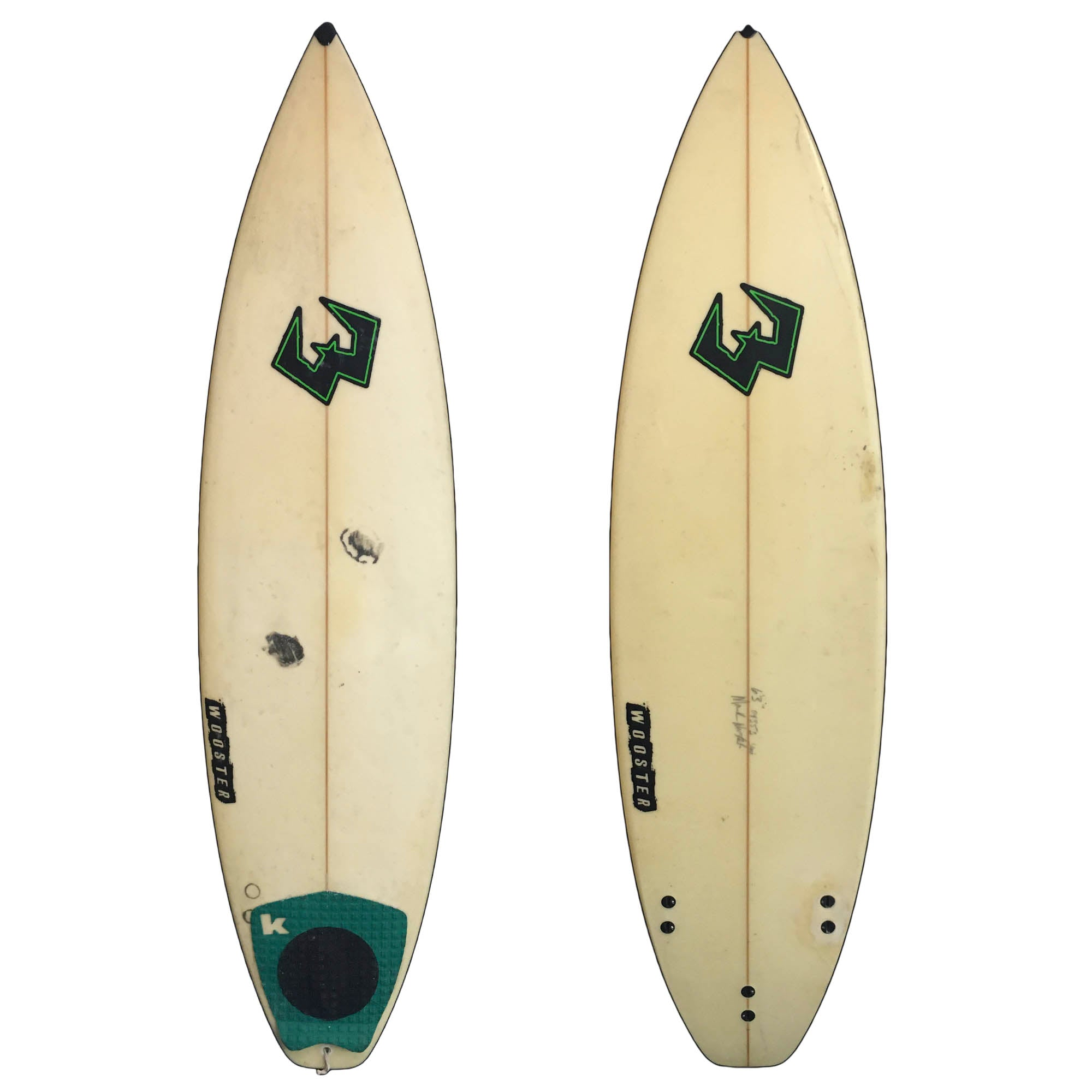 Wooster 6'3 Used Surfboard