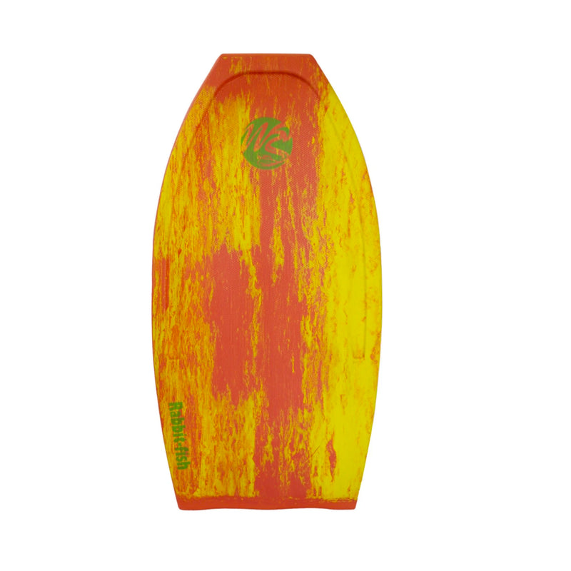 Wave Skater Pro Rabbit-Fish 45'' Bodyboard - Red/Yellow