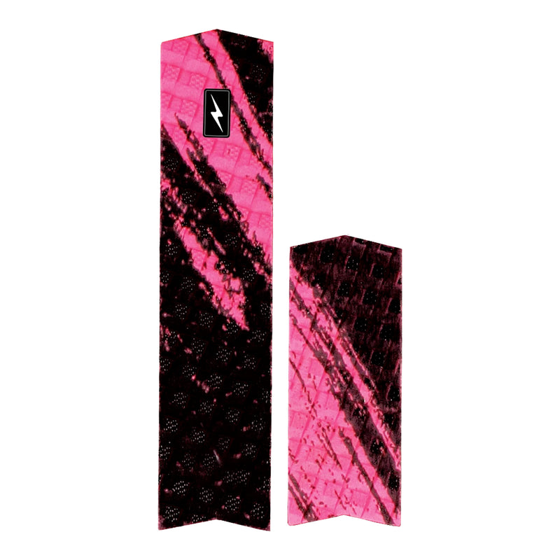 Zap Spark Arch Bar Skimboard Traction Pad - Pink
