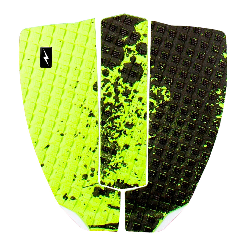 Zap Spark Skimboard 3-Piece Traction Pad - Green