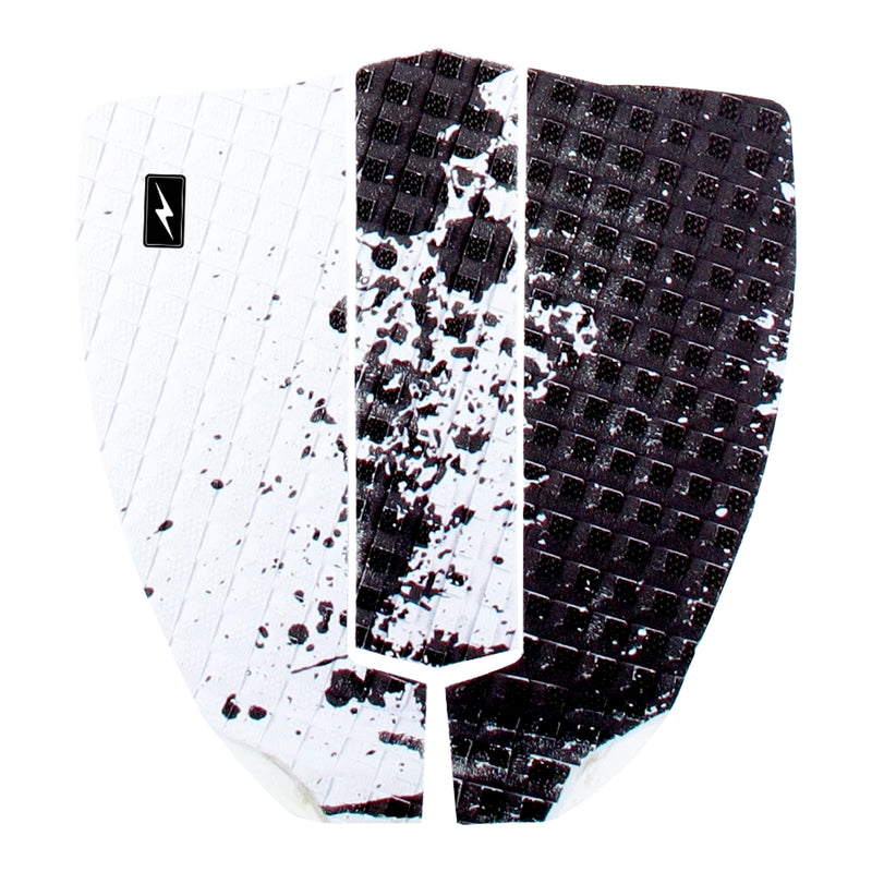 Zap Spark Skimboard 3-Piece Traction Pad - White