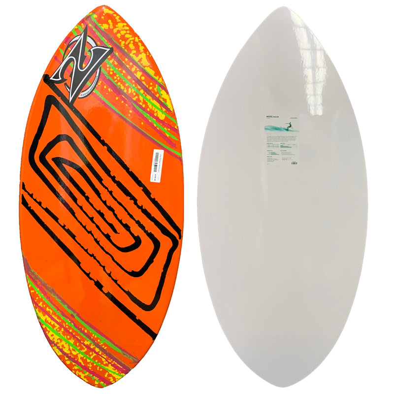 Zap Wedge Skimboard - Orange/Black