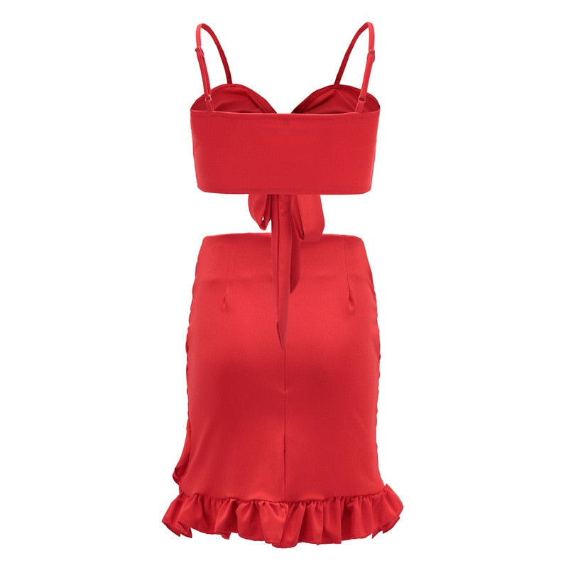 Scarlet Two Piece