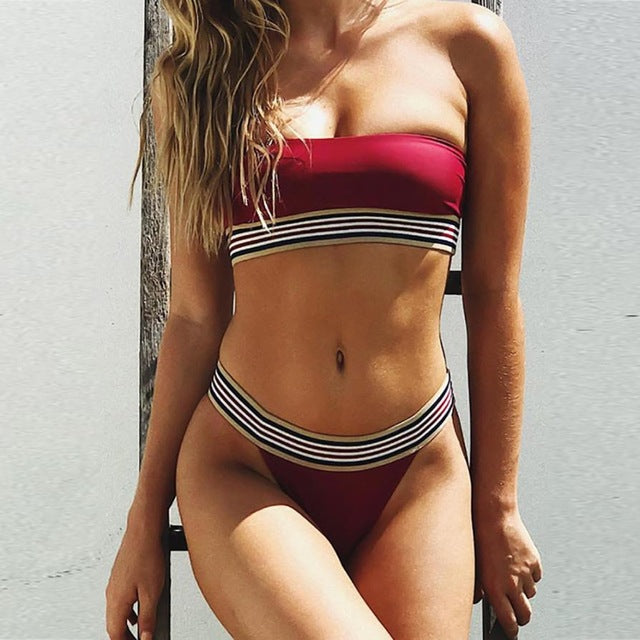 Bottoms Up Bikini Set