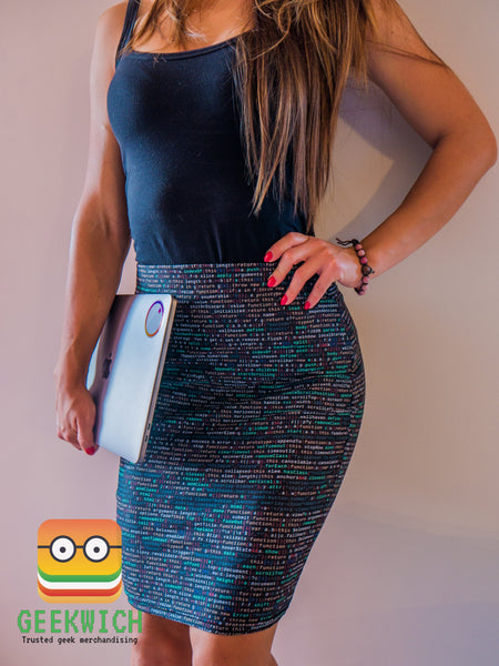 programming skirt shop now geek geekwich wich coding codingskirt programmingskirt
