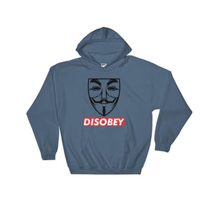 Anonymous Disobey Hoodie - Indigo Blue / S - Hoodie $34.99 Geekwich