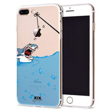 Cartoon Funny Geeky Iphone Cases Cover - Shark / For Iphone 6 Plus - Case Cover $9.99 Geekwich