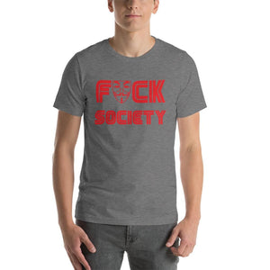 F**k Society - Deep Heather / S - T-Shirt $24.99 Geekwich