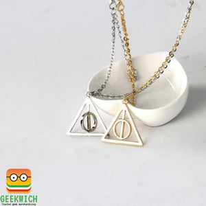 Hp Deathly Hallows Pendant Jewelry - Gadget $4.99 Geekwich