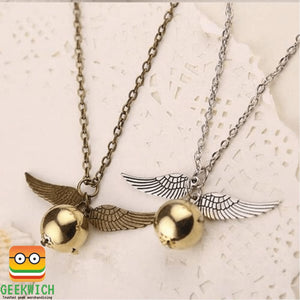 Hp Golden Snitch Necklace Jewelry - Gadget $4.99 Geekwich