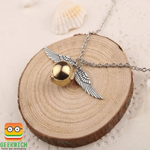 Hp Golden Snitch Necklace Jewelry - Silver - Gadget $4.99 Geekwich