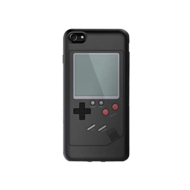 Iphone Case - Retro Look Play On It! - Black / For Iphone 8 - Cover $29.99 Geekwich