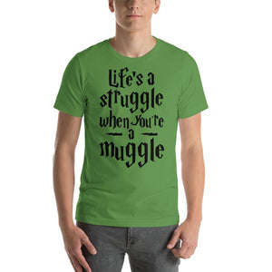 Life As A Muggle - Leaf / S - T-Shirt $24.99 Geekwich