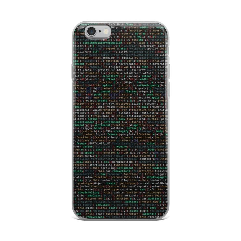 Programming Iphone Case - Iphone 6 Plus/6S Plus - Case $19.99 Geekwich