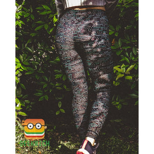 Programming Leggings - Leggings $44.99 Geekwich