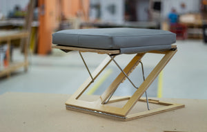 Adjustable Travel Footstool