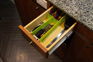 PurVario Drawer-Organizing Stow Bars - mb-vans-parts-and-accessories-for-sprinter-metris