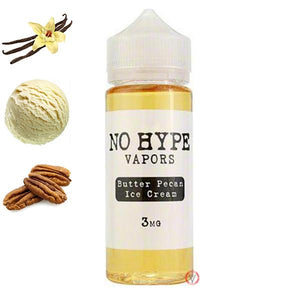 No Hype Vapors - Butter Pecan Ice-Cream | UAE Vapors R Us - The first vape store in UAE