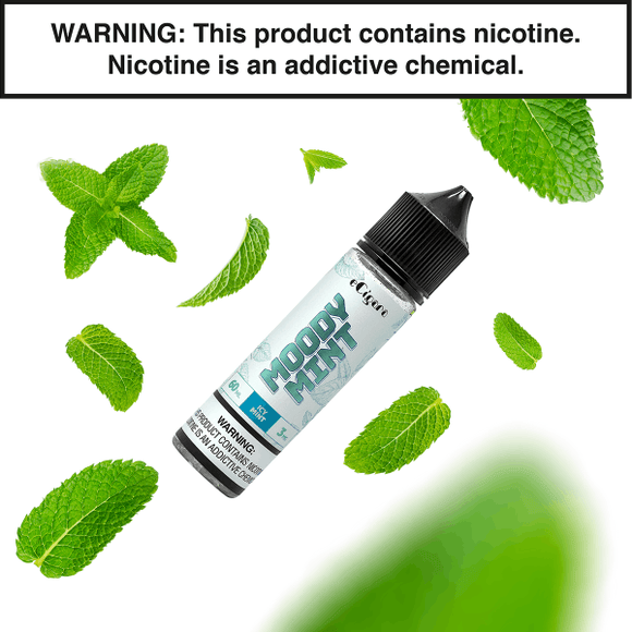 MOODY MINT Eliquid 60ml - ECIGARA premium vapes shop uae