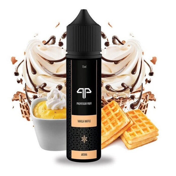 Professor Puff Vanilla Waffle 60ml Eliquid Premium Vapes shop UAE