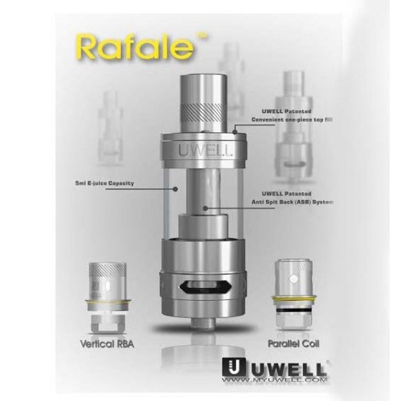 Uwell Rafale 5ml Sub Ohm Tank Premium Vapes shop UAE
