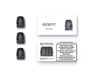 Justfog MINIFIT Pod Cartridge (pack of 3)