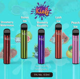 Kief Disposable Pod 1500 Puffs | Premium Vapes UAE