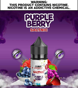 Purple Berry Salt Nic by Cloud Breakers | Premium Vapes UAE