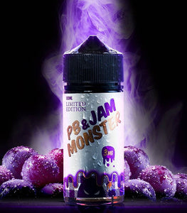 Jam Monster - PB & Jam Grape Eliquid 100ml | Premium Vapes UAE
