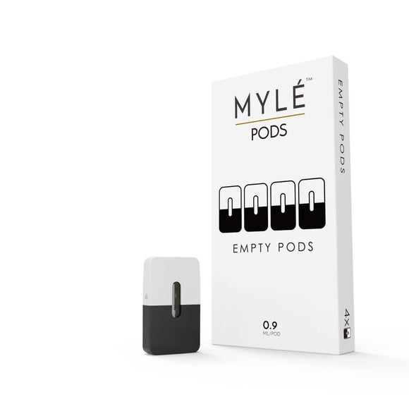 MYLE Empty Pods (4 pods/pack) | Premium Vapes UAE