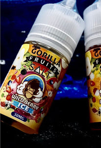 Gorilla Fruits Wild Berry Ice Salt Nic | Premium Vapes UAE